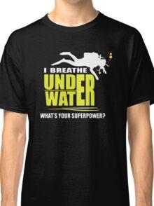 I breathe underwater Classic T-Shirt
