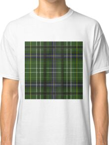 Tartan in green Classic T-Shirt