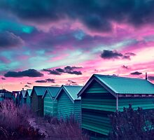 Infrared Sunset by ea-photos