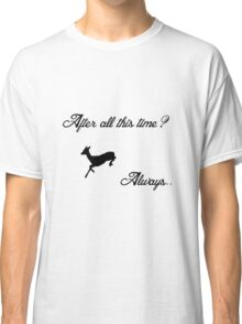 Harry Potter - Always (Black) Classic T-Shirt