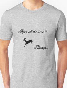 Harry Potter - Always (Black) T-Shirt
