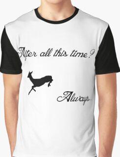 Harry Potter - Always (Black) Graphic T-Shirt
