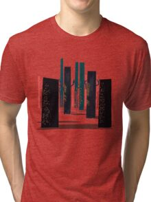 Flat Stamp Forest Tri-blend T-Shirt