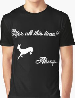 Harry Potter - Always (White) Graphic T-Shirt