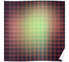 abstract square design Poster