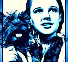 Judy Garland Wizard of Oz Dorothy by esotericaart