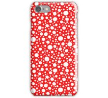pattern with circle motive iPhone Case/Skin