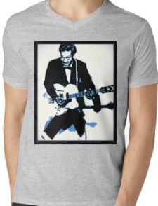 Chuck Berry Rock n Roll Mens V-Neck T-Shirt
