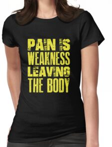 Pain Is Weakness Boxing T-Shirt