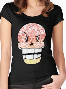 Papyrus Sugar Skull Undertale #1 Women's Fitted Scoop T-Shirt