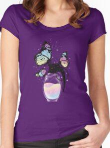 Positive Destruction Women's Fitted Scoop T-Shirt