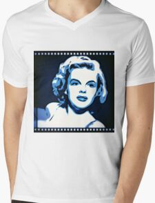 Judy Garland Mens V-Neck T-Shirt