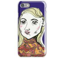 goofy star iPhone Case/Skin