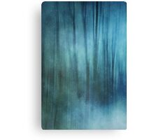Winter forest impression Canvas Print