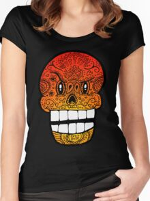 Papyrus Sugar Skull Undertale #2 Women's Fitted Scoop T-Shirt
