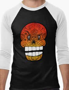 Papyrus Sugar Skull Undertale #2 Men's Baseball ¾ T-Shirt