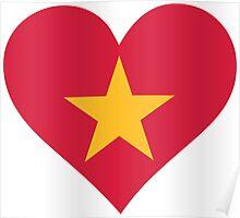 A heart for Vietnam Poster