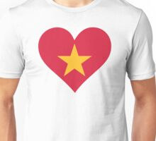 A heart for Vietnam Unisex T-Shirt