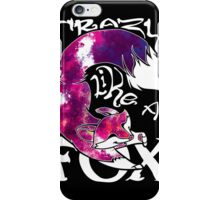 Crazy Like A Fox - Purple Galaxy iPhone Case/Skin