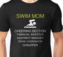 SWIM MOM DUTIES Unisex T-Shirt