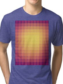 abstract square pattern Tri-blend T-Shirt