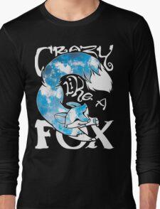 Crazy Like A Fox - Blue Rapids Long Sleeve T-Shirt