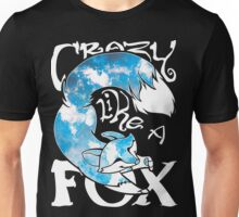 Crazy Like A Fox - Blue Rapids Unisex T-Shirt