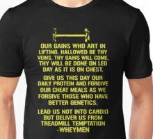WEIGHT LIFTING PRAYER Unisex T-Shirt