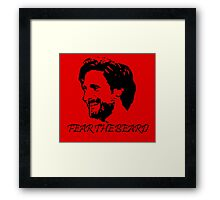 Joe Allen - Fear the Beard - Stoke City Framed Print