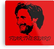 Joe Allen - Fear the Beard - Stoke City Metal Print