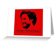 Joe Allen - Fear the Beard - Stoke City Greeting Card