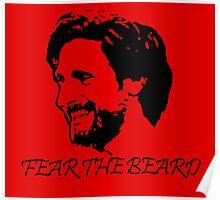 Joe Allen - LFC - Liverpool FC - Fear the Beard Poster