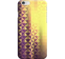 abstract triangle pattern iPhone Case/Skin