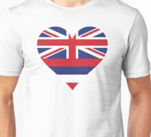 A heart for Hawaii Unisex T-Shirt