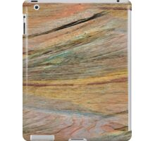 Natural Colorful Sandstone Texture  iPad Case/Skin