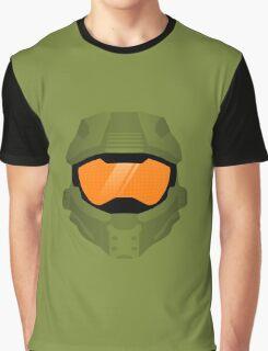 Master Chief Helmet Graphic T-Shirt