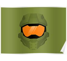 Master Chief Helmet Poster