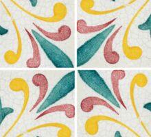 Traditional Portuguese glazed tiles Sticker