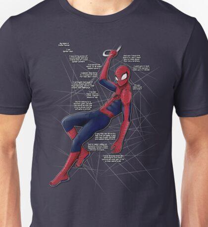 Ultimate Comics Spider-Man (fries monologue) T-shirt Unisex T-Shirt