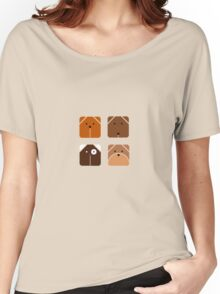 Squared dogs Women's Relaxed Fit T-Shirt