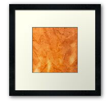 Old paper texture Framed Print