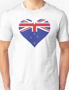 A heart for New Zealand T-Shirt