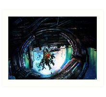 XenobladeX: Oblivia ring Art Print