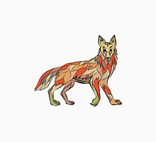 Coyote Side Isolated Drawing Unisex T-Shirt