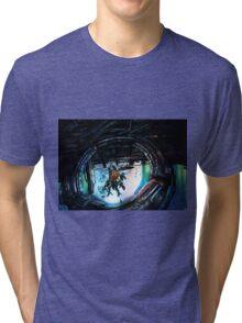 XenobladeX: Oblivia ring Tri-blend T-Shirt