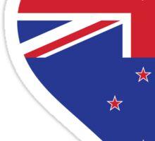 I Love New Zealand Sticker