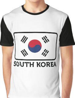 National flag of South Korea Graphic T-Shirt