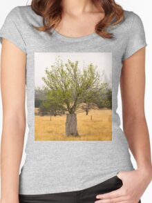 Tree of life 3 Women's Fitted Scoop T-Shirt