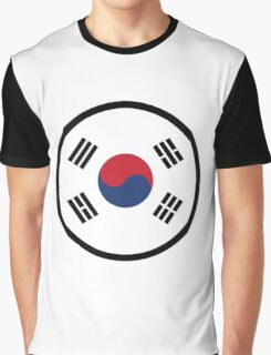 Marked by South Korea Graphic T-Shirt