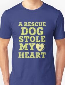 A Rescue Dog Stole My Heart T-Shirt